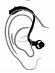 gehoorapparaat, hortoestel liho - luidspreker in het oor