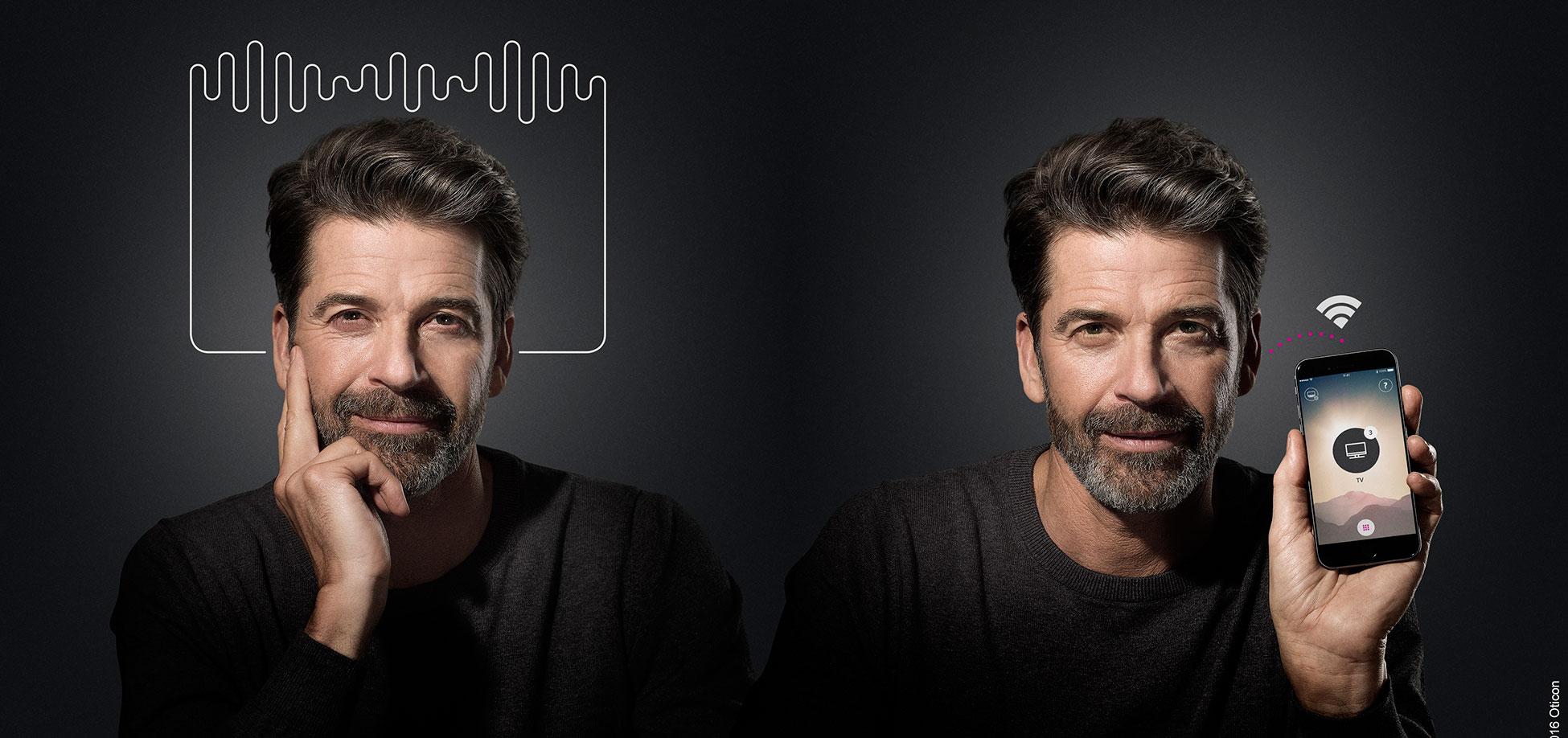 Oticon Opn Iphone hoortoestel gehoorapparaat